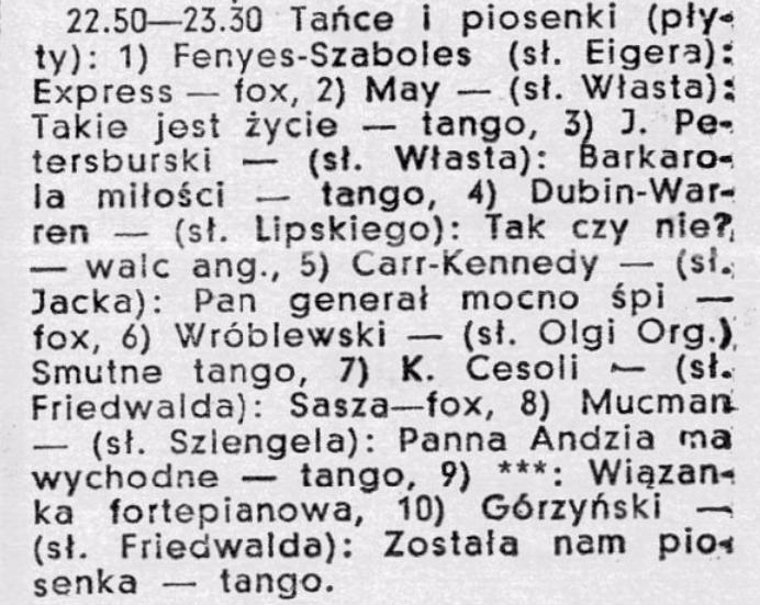 1935 1939 Władysław Szlengel